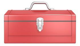 Caja de herramientas roja Imágenes de archivo libres de regalías