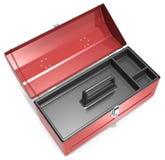 Caja de herramientas vacía Fotografía de archivo