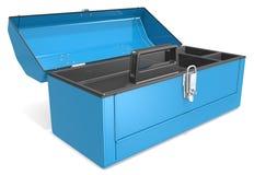 Caja de herramientas vacía Fotografía de archivo libre de regalías
