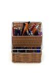 Caja de lápiz Foto de archivo libre de regalías