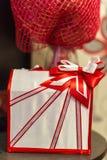Caja de la boda para los regalos del dinero y de la tarjeta Imagenes de archivo
