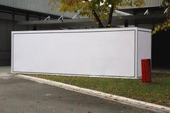 Caja de la cartelera de publicidad Imagenes de archivo