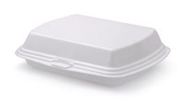 Caja de la comida Imágenes de archivo libres de regalías