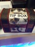 Caja de la extremidad Foto de archivo libre de regalías
