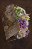 Caja de la flor Imagen de archivo