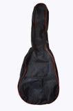 Caja de la guitarra en fondo blanco aislado Imagenes de archivo