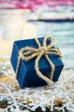 Caja de la Navidad Fotografía de archivo