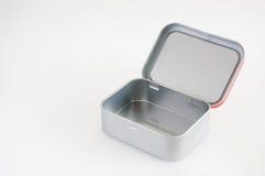 Caja de la Navidad de aluminio Fotos de archivo libres de regalías
