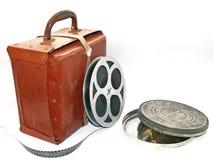 Caja de la película Foto de archivo libre de regalías
