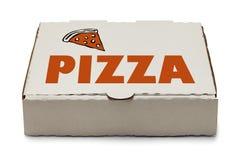 Caja de la pizza Imágenes de archivo libres de regalías