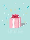 Caja de la sorpresa Fotografía de archivo libre de regalías