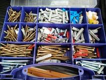 Caja de las herramientas Fotos de archivo libres de regalías