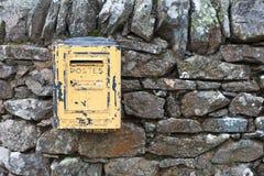 Caja de los posts Imagen de archivo libre de regalías