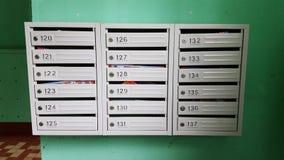 Caja de los posts imágenes de archivo libres de regalías