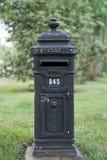 Caja de los posts del correo Foto de archivo libre de regalías