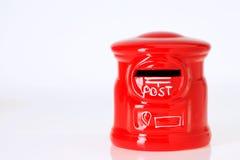 Caja de los posts del juguete Fotos de archivo