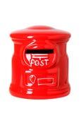 Caja de los posts del juguete Fotografía de archivo libre de regalías