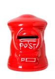 Caja de los posts del juguete Imagenes de archivo