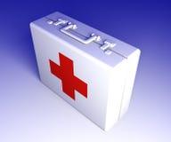 Caja de los primeros auxilios Imagen de archivo libre de regalías