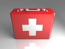 Caja de los primeros auxilios libre illustration