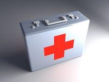 Caja de los primeros auxilios ilustración del vector