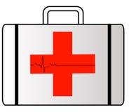 Caja de los primeros auxilios Fotografía de archivo