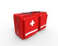 Caja de los primeros auxilios Imagen de archivo