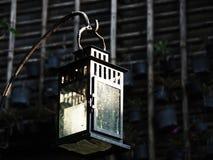 Caja de luz de la vela Fotografía de archivo