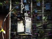 Caja de luz de la vela Imagen de archivo libre de regalías