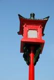 Caja de luz roja Imagen de archivo libre de regalías