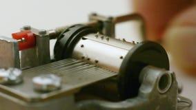Caja de música almacen de metraje de vídeo