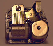 Caja de música imágenes de archivo libres de regalías