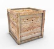 Caja de madera Foto de archivo