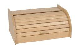 Caja de madera del pan Imagen de archivo