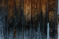 Caja de madera del puente de la frontera del piso del pedazo del tablón foto de archivo