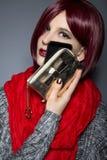 Caja de moda del teléfono celular Fotografía de archivo libre de regalías