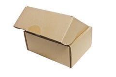 Caja de papel. imagen de archivo libre de regalías