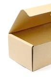 caja de papel marrón Fotografía de archivo