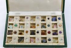 Caja de piedras Foto de archivo libre de regalías