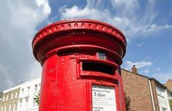 Caja de pilar de Royal Mail fotos de archivo