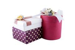Caja de regalo Imagenes de archivo