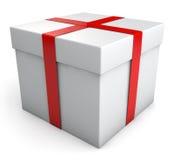 Caja de regalo Fotos de archivo libres de regalías
