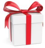 Caja de regalo. Fotos de archivo