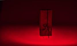 Caja de regalo de la Navidad en blanco Imagen de archivo