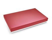 Caja de regalo del color rojo Imagen de archivo libre de regalías