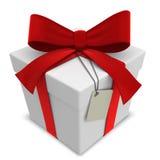Caja de regalo del vector Fotos de archivo