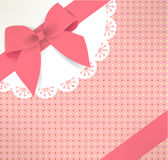 Caja de regalo linda Fotografía de archivo