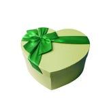 Caja de regalo para el hombre El día de tarjeta del día de San Valentín, el día de padre Foto de archivo libre de regalías