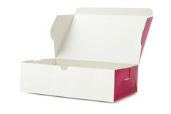 Caja de torta para llevar Imagenes de archivo