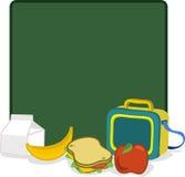 Caja del almuerzo Fotografía de archivo libre de regalías